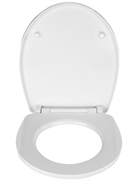 WENKO WC-Sitz »Spa« aus Duroplast,  oval mit Softclose-Funktion