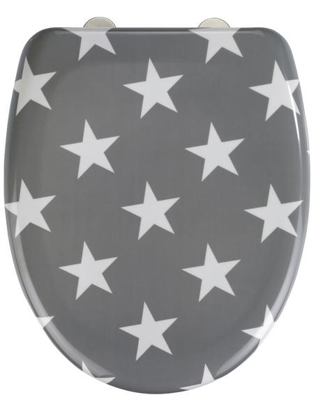 WENKO WC-Sitz »Stella« Duroplast,  oval mit Softclose-Funktion