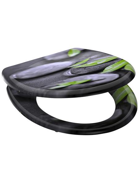 SCHÜTTE WC-Sitz »Stone«, Duroplast, oval, mit Softclose-Funktion