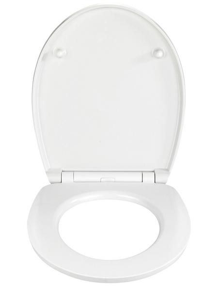 WENKO WC-Sitz »Sunset« aus Duroplast,  oval mit Softclose-Funktion