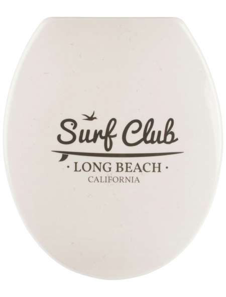 SANITOP-WINGENROTH WC-Sitz »Surfclub«, Duroplast, oval, mit Softclose-Funktion