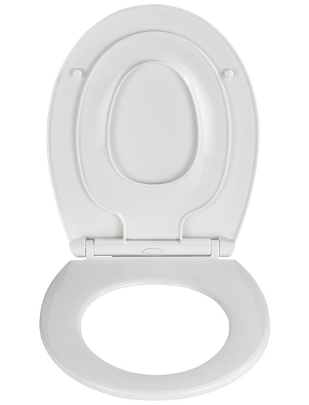 WENKO WC-Sitz »Syros Family« aus Thermoplast,  oval mit Softclose-Funktion