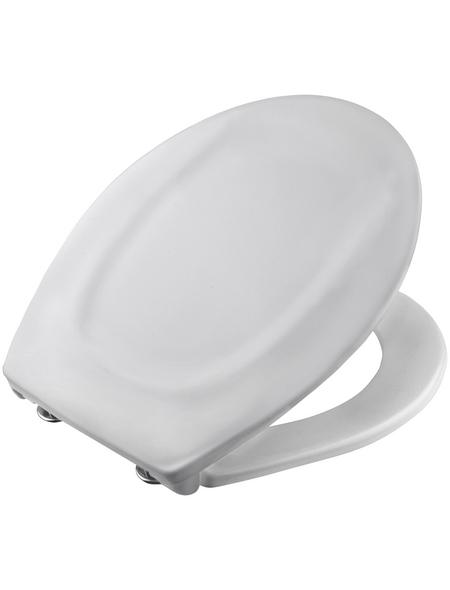 CORNAT WC-Sitz Thermoplast,  D-Form