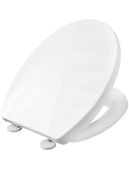 CORNAT WC-Sitz Thermoplast,  oval mit Softclose-Funktion