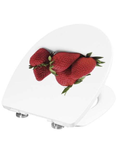 CORNAT WC-Sitz Thermoplast,  oval mit Softclose-Funktion