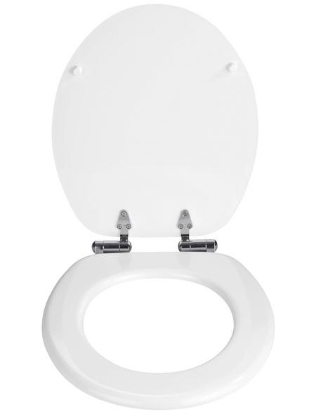 WENKO WC-Sitz »Urbino«,  Absenkautomatik