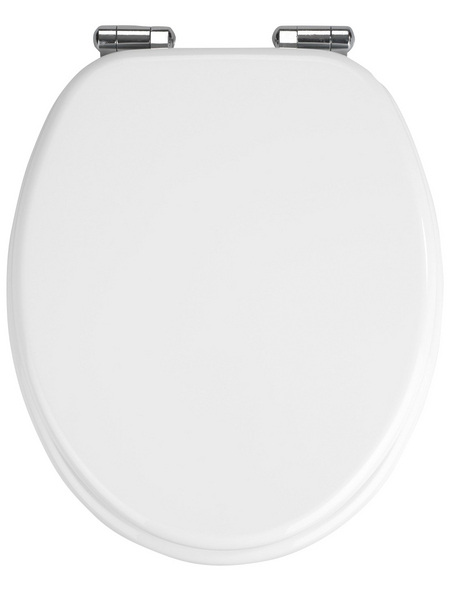 WENKO WC-Sitz »Urbino«, MDF, oval, mit Softclose-Funktion