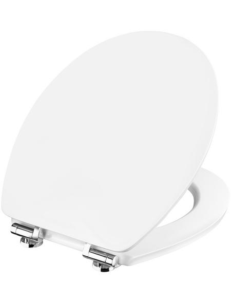 CORNAT WC-Sitz »VALE«, Holzkern, oval mit Softclose-Funktion