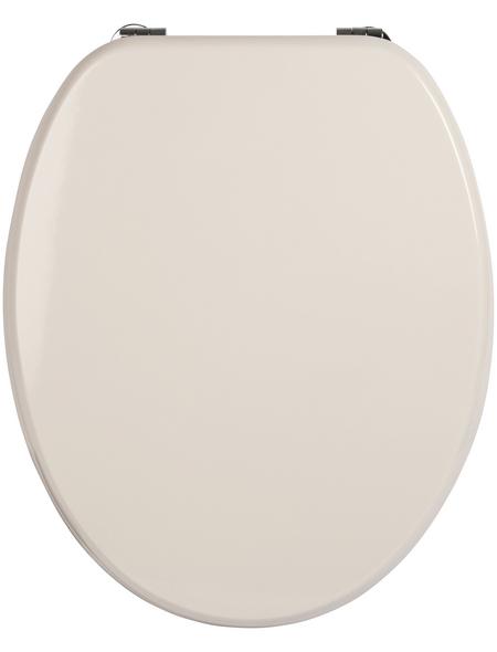 SANITOP-WINGENROTH WC-Sitz »Venezia«, mit Holzkern, oval
