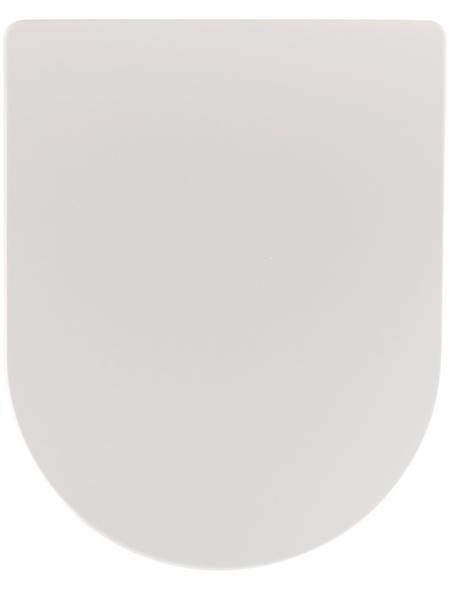 SANITOP-WINGENROTH WC-Sitz »Vintage«, Duroplast, D-Form, mit Softclose-Funktion
