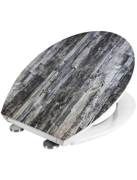 CORNAT WC-Sitz »VINTAGE« Duroplast,  oval mit Softclose-Funktion