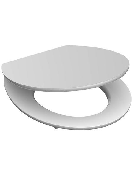 SCHÜTTE WC-Sitz »White« mit Holzkern,  oval mit Softclose-Funktion
