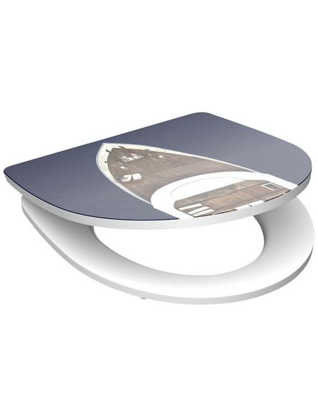 SCHÜTTE WC-Sitz »Yachting« aus Duroplast,  oval mit Softclose-Funktion