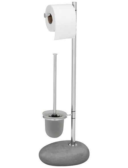 WENKO WC-Standgarnitur »Pebble«