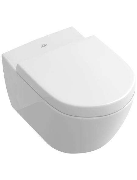 VILLEROY & BOCH WC, Tiefspüler, alpinweiß