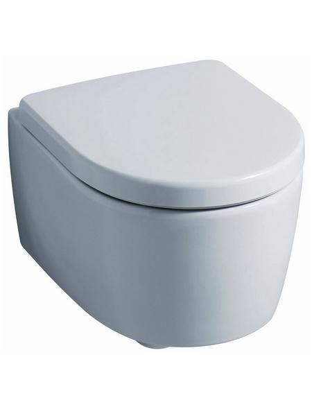 GEBERIT WC, Tiefspüler, weiß, mit Spülrand