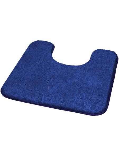 KLEINE WOLKE WC-Vorleger »Wilna«, blau, B x L: 55  x 55 cm