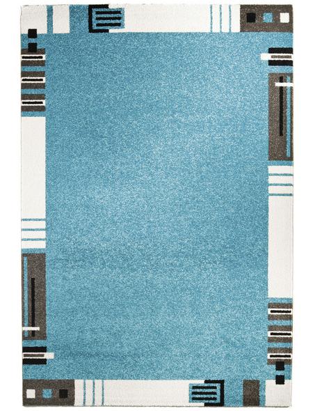 ANDIAMO Web-Teppich »Aurora«, BxL: 120 x 170 cm, türkis