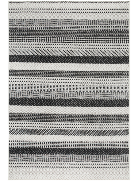ANDIAMO Web-Teppich »Bolonia«, BxL: 120 x 170 cm, hellgrau