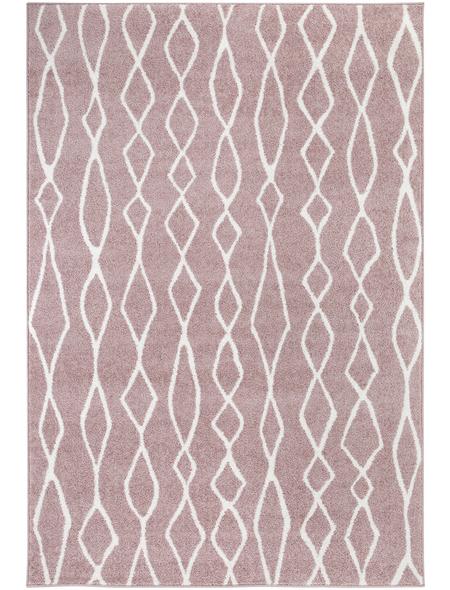 ANDIAMO Web-Teppich »Bolonia«, BxL: 120 x 170 cm, rosenholzfarben