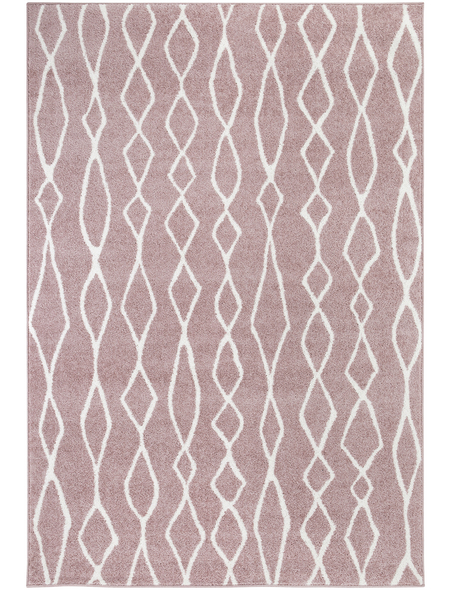 ANDIAMO Web-Teppich »Bolonia«, BxL: 60 x 110 cm, rosenholzfarben