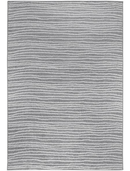 ANDIAMO Web-Teppich »Bolonia«, BxL: 67 x 140 cm, grau