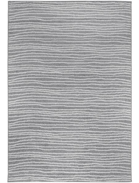 ANDIAMO Web-Teppich »Bolonia«, BxL: 80 x 200 cm, grau