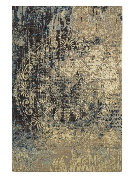 Web-Teppich, BxL: 120 x 170 cm, blau/beige