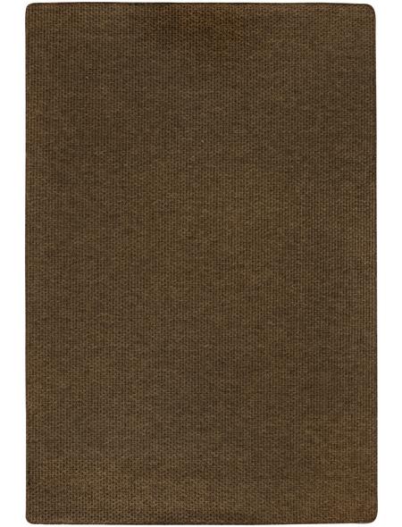 ANDIAMO Web-Teppich »Urbino«, BxL: 133 x 190 cm, creme/dunkelbraun