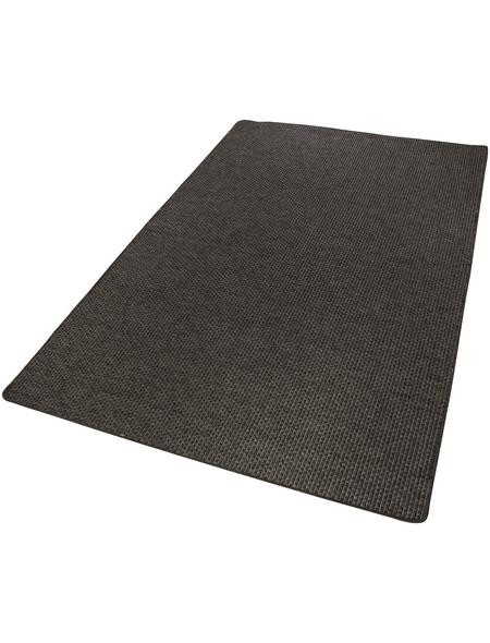 ANDIAMO Web-Teppich »Urbino«, BxL: 160 x 240 cm, grau/dunkelbraun