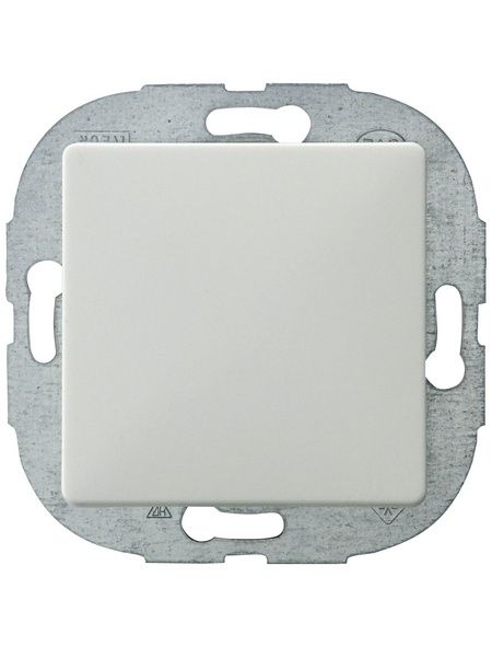 GO/ON! Wechselschalter, PrimaLuxe, Kunststoff, Weiß