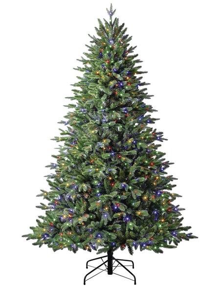 Evergreen Weihnachtsbaum »Sherwood Fichte«, Höhe: 210 cm, grün, beleuchtet