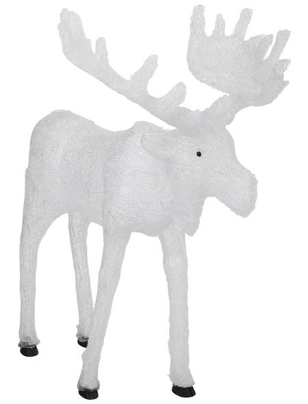 KONSTSMIDE Weihnachtsfigur, Elch, Höhe: 100 cm, Netzbetrieb