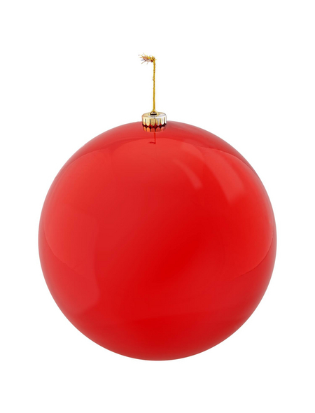 CASAYA Weihnachtskugel, Ø: 25 cm, rot