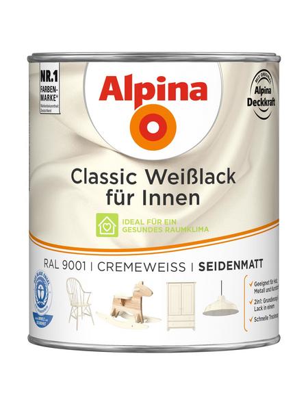 ALPINA Weißlack »Classic«, cremeweiss, seidenmatt