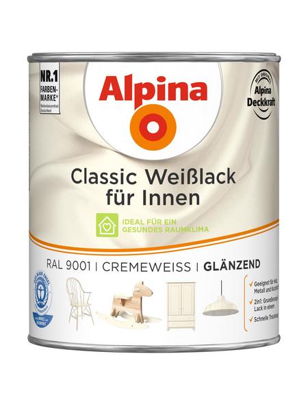 ALPINA Weißlack »Classic«, RAL 9001, glänzend