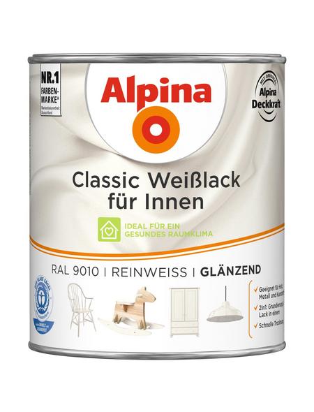 ALPINA Weißlack »Classic«, reinweiss, glänzend