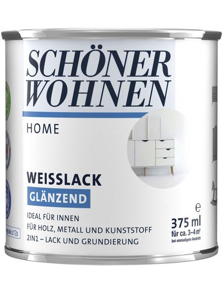 SCHÖNER WOHNEN FARBE Weißlack, glänzend