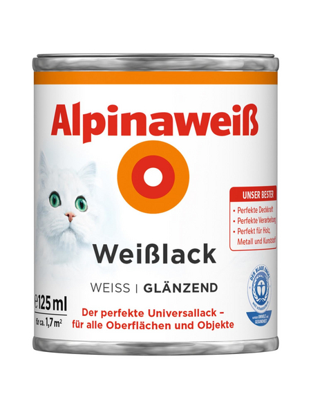 ALPINA Weißlack , glänzend