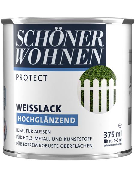 SCHÖNER WOHNEN Weißlack, hochglänzend