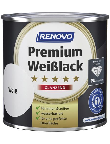 RENOVO Weißlack »Premium«, Weiß, glänzend