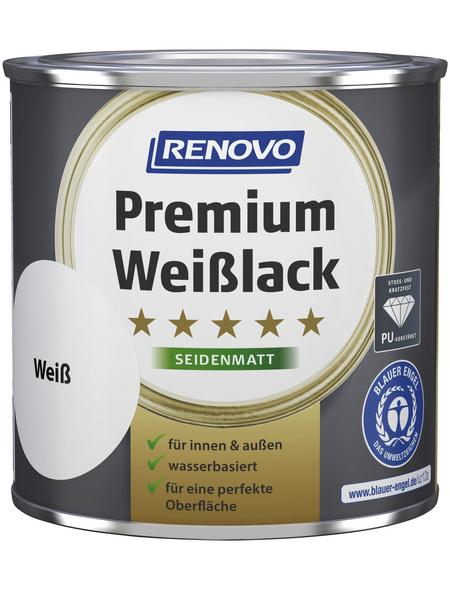 RENOVO Weißlack »Premium«, Weiß, seidenmatt