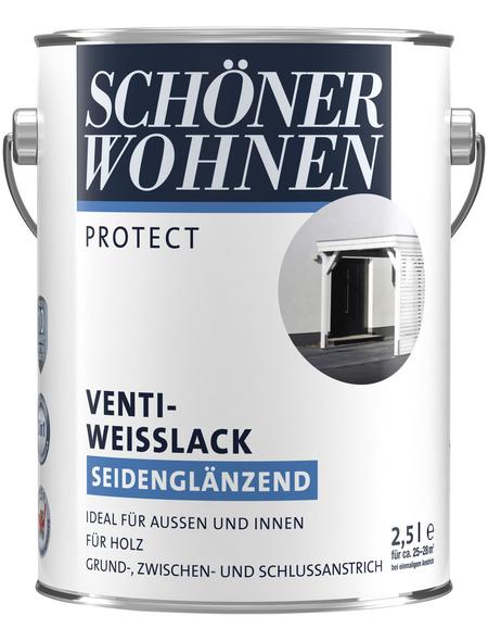 SCHÖNER WOHNEN Weißlack, seidenglänzend
