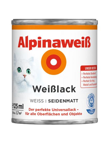 ALPINA Weißlack , seidenmatt