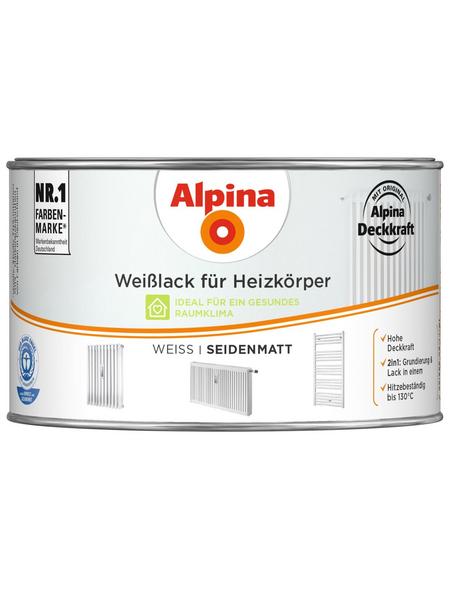 ALPINA Weißlack, seidenmatt
