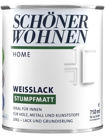 SCHÖNER WOHNEN Weißlack, stumpfmatt