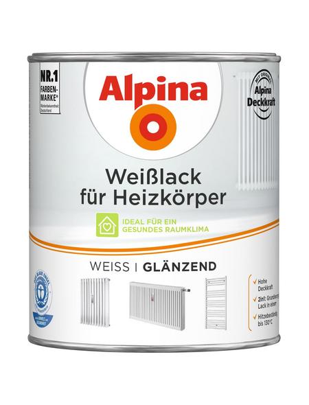 ALPINA Weißlack, weiss, glänzend