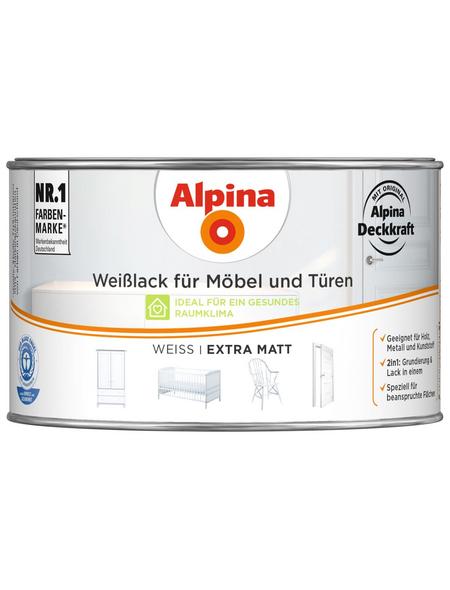 ALPINA Weißlack, weiss, matt