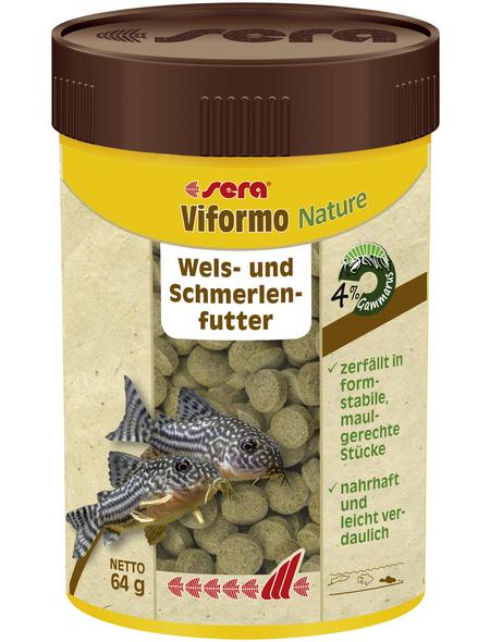 sera Wels-und Schmerlenfutter »Viformo Nature«, Aqua, 100 ml (64g)