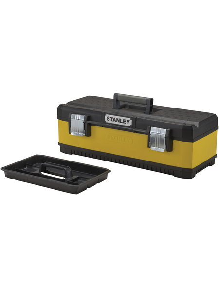 STANLEY Werkzeugbox, BxHxL: 66,2 x 22,2 x 29,3 cm, Kunststoff